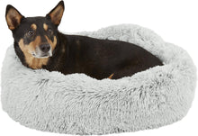 Load image into Gallery viewer, Best Friends by Sheri Luxury Shag Donut Self-Heating Orthopedic Dog Bed,  - Canine's World Best Friends by Sheri Orthopedic Beds