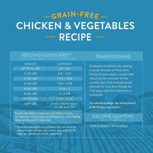 Load image into Gallery viewer, True Acre Foods Chicken & Vegetable Recipe Grain-Free Dry Dog Food,  - Canine's World