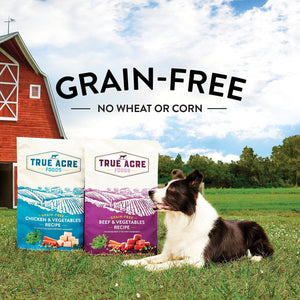 Canine's World True Acre Foods Dry Dog Food True Acre Foods Beef & Vegetable Recipe Grain-Free Dry Dog Food