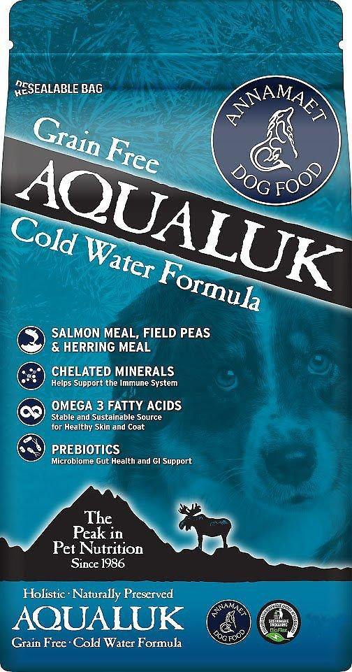 Annamaet Grain-Free Aqualuk Cold Water Formula Dry Dog Food, - Canine's World