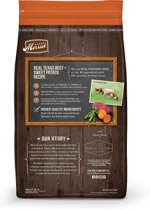 Merrick Grain-Free Texas Beef & Sweet Potato Recipe Dry Dog Food, - Canine's World