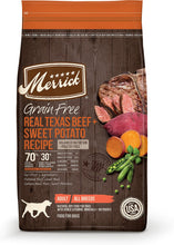 Load image into Gallery viewer, Merrick Grain-Free Texas Beef & Sweet Potato Recipe Dry Dog Food, - Canine's World