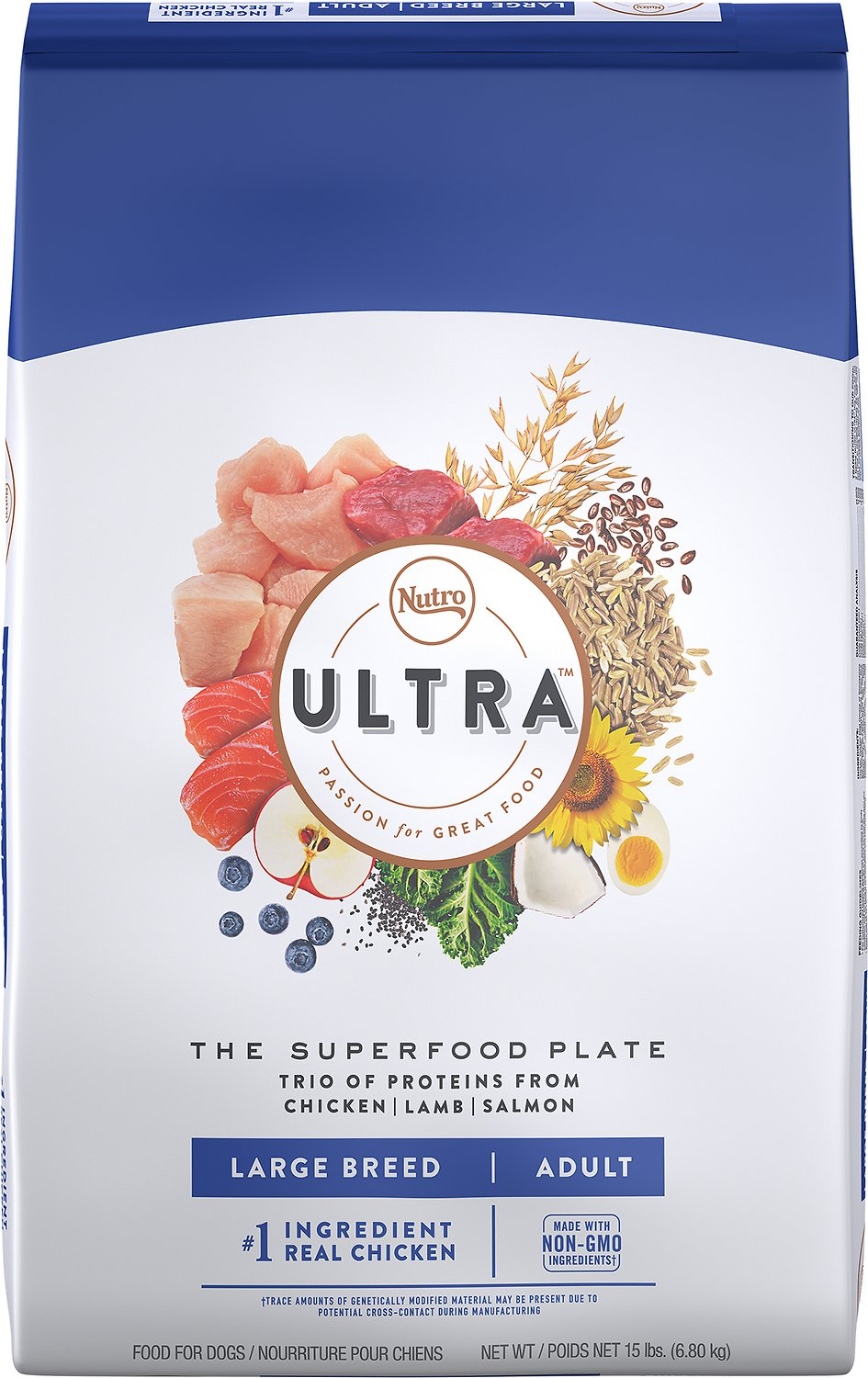 Nutro Ultra Large Breed Adult Dry Dog Food, - Canine's World