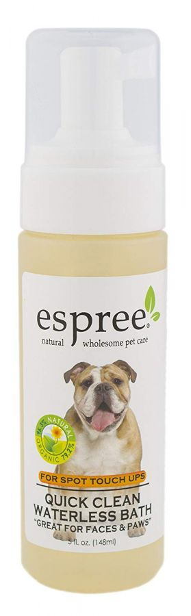 Canine's World 5 Oz Espree Dog Shampoos Espree Quick Clean Waterless Bath
