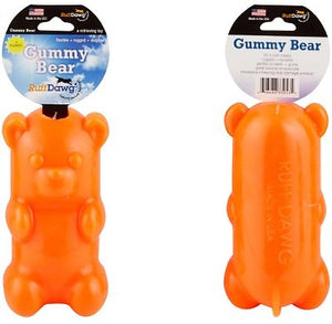 Ruff Dawg Gummy Bear Dog Toy, Color Varies - Canine's World