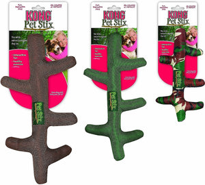 KONG Pet Stix Dog Toy, Color Varies, Large - Canine's World
