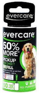 Canine's World Evercare Dog Brushes & Combs Evercare Pet Hair Adhesive Roller Refill Roll