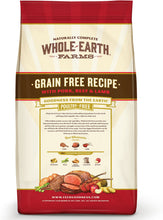 Load image into Gallery viewer, Whole Earth Farms Grain-Free Pork, Beef & Lamb Recipe Dry Dog Food - Canine's World