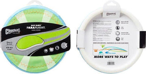 Canine's World Dog Disc Toys Chuckit! Paraflight Max Glow