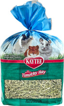 Load image into Gallery viewer, Canine's World 96- Oz Bag Kaytee Rabbit Food Kaytee Natural Timothy Hay Small Animal Food
