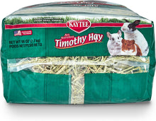 Load image into Gallery viewer, Canine's World Kaytee Rabbit Food Kaytee Natural Timothy Hay Small Animal Food