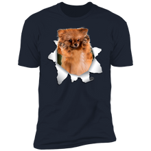 Load image into Gallery viewer, GERMAN SPITZ KLEIN 3D Premium Short Sleeve T-Shirt - Canine's World