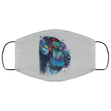 Load image into Gallery viewer, Hand painted Schnauzer human Face Mask - Canine's World