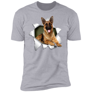 GERMAN SHEPHERD 3D Premium Short Sleeve T-Shirt - Canine's World