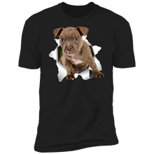 Load image into Gallery viewer, Canine's World Ultimate Shield T-Shirts PITBULL 3D Premium Short Sleeve T-Shirt