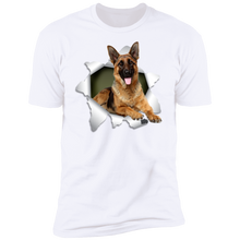 Load image into Gallery viewer, GERMAN SHEPHERD 3D Premium Short Sleeve T-Shirt - Canine's World