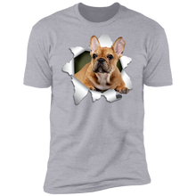 Load image into Gallery viewer, FRENCH BULLDOG 3D Premium Short Sleeve T-Shirt - Canine's World