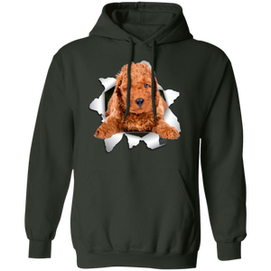 POODLE 3D Pullover Hoodie 8 oz. - Canine's World