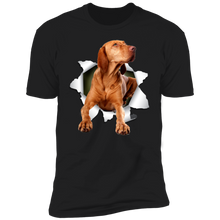 Load image into Gallery viewer, Canine's World Ultimate Shield T-Shirts VIZSLA 3D Premium Short Sleeve T-Shirt