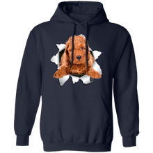 Load image into Gallery viewer, POODLE 3D Pullover Hoodie 8 oz. - Canine's World