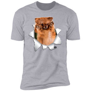 GERMAN SPITZ KLEIN 3D Premium Short Sleeve T-Shirt - Canine's World