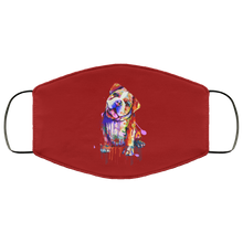 Load image into Gallery viewer, Hand painted Bull Dog human Face Mask - Canine's World