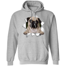 Load image into Gallery viewer, PUG 3D Pullover Hoodie 8 oz. - Canine's World