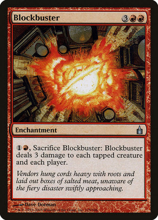 Blockbuster [Ravnica: City of Guilds] | Pro Gamers and Collectables