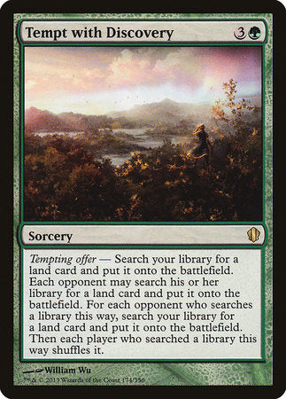 Tempt with Discovery [Commander 2013] | Pro Gamers and Collectables