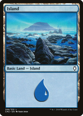 Island (288) [Commander Anthology Volume II] | Pro Gamers and Collectables