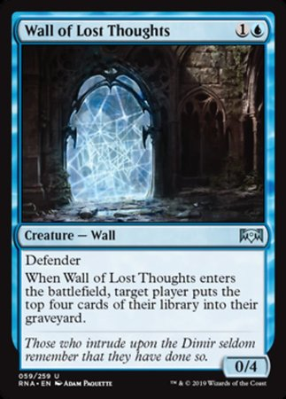 Wall of Lost Thoughts [Ravnica Allegiance] | Pro Gamers and Collectables