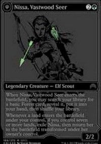 Nissa, Vastwood Seer SDCC 2015 EXCLUSIVE [San Diego Comic-Con 2015] | Pro Gamers and Collectables