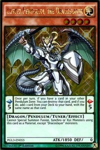 Luster Pendulum, the Dracoslayer [Premium Gold: Infinite Gold] [PGL3-EN055] | Pro Gamers and Collectables
