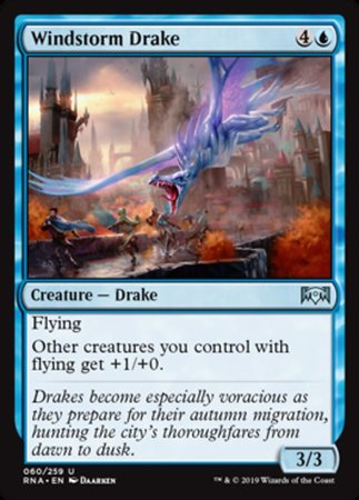 Windstorm Drake [Ravnica Allegiance] | Pro Gamers and Collectables