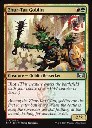 Zhur-Taa Goblin [Ravnica Allegiance] | Pro Gamers and Collectables