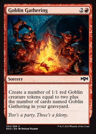 Goblin Gathering [Ravnica Allegiance] | Pro Gamers and Collectables