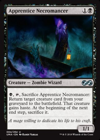 Apprentice Necromancer [Ultimate Masters] | Pro Gamers and Collectables