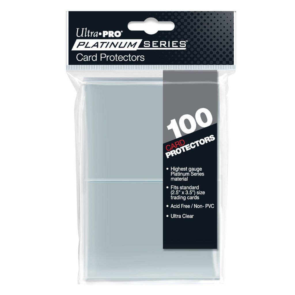 Ultra Pro Deck Protector Platinum Series Sleeves Standard x100 | Pro Gamers and Collectables