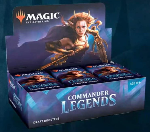 Commander Legends Draft Booster Box Pro Gamers And Collectables Each player receives three booster packs. commander legends draft booster box