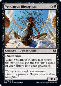 Venomous Hierophant [Theros Beyond Death] | Pro Gamers and Collectables