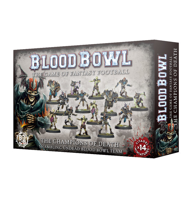 Blood Bowl Shambling Undead Team | Pro Gamers and Collectables
