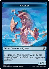 Kraken Token [Theros Beyond Death] | Pro Gamers and Collectables
