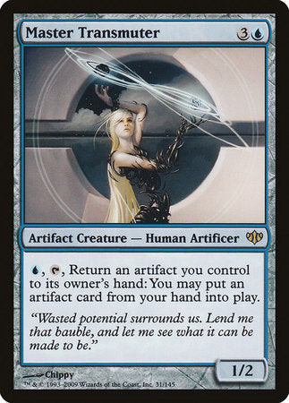 Master Transmuter [Conflux] | Pro Gamers and Collectables