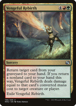 Vengeful Rebirth [Modern Masters 2015] | Pro Gamers and Collectables