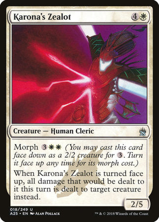 Karona's Zealot [Masters 25] | Pro Gamers and Collectables