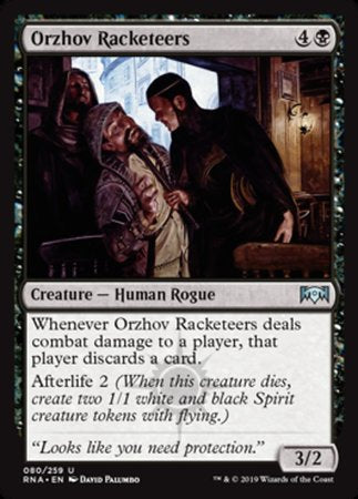 Orzhov Racketeers [Ravnica Allegiance] | Pro Gamers and Collectables