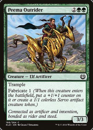 Peema Outrider [Kaladesh] | Pro Gamers and Collectables