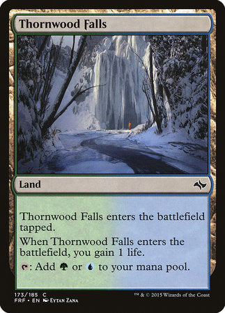 Thornwood Falls [Fate Reforged] | Pro Gamers and Collectables