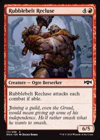 Rubblebelt Recluse [Ravnica Allegiance] | Pro Gamers and Collectables