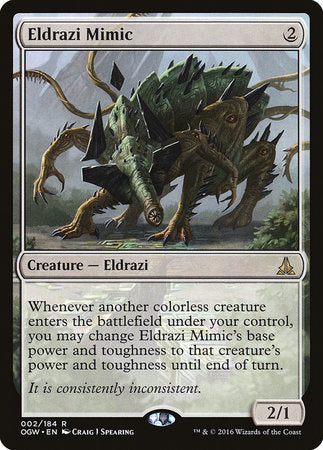 Eldrazi Mimic [Oath of the Gatewatch] | Pro Gamers and Collectables